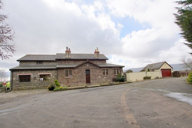 Thumbnail Detached house for sale in Station House, Penpergwm, Abergavenny, Monmouthshire