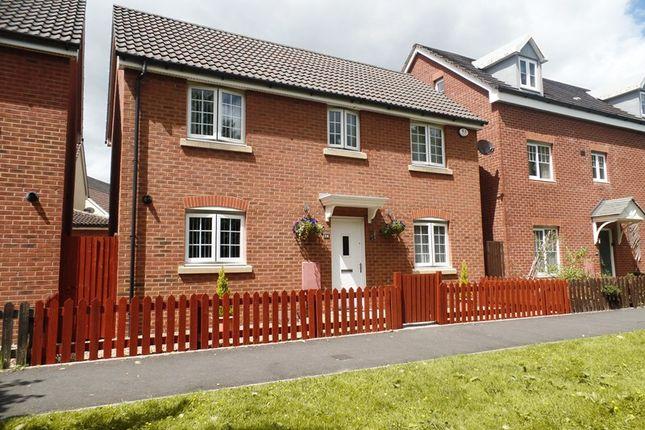 Thumbnail Detached house for sale in Woodland Walk, Cae Penderyn, Merthyr Tydfil