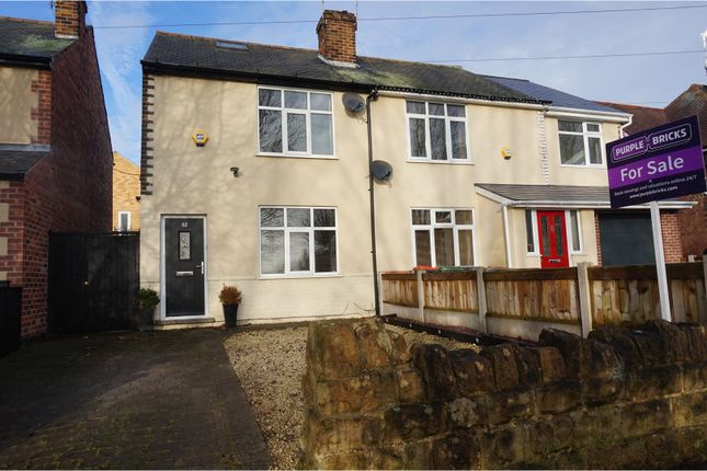 2 bed semi-detached house for sale in Chetwynd Road, Chilwell
