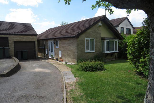 Thumbnail Detached bungalow for sale in Oakford Close, Pontprennau, Cardiff