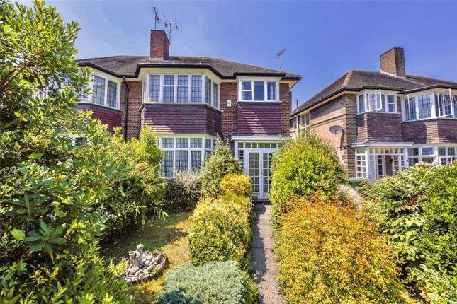 Thumbnail Semi-detached house for sale in St. Margarets Drive, St. Margarets, Twickenham