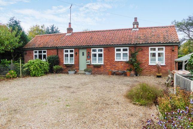 Thumbnail Detached bungalow for sale in Walgar, The Street, Haddiscoe, Norwich