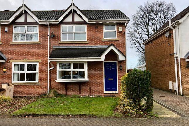 Thumbnail Semi-detached house to rent in Wimbledon Drive, Rochdale