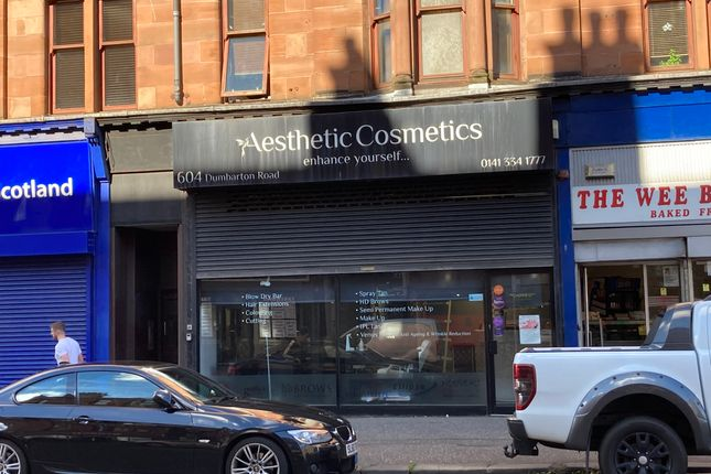 Retail premises to let in Dumbarton Road, Glasgow