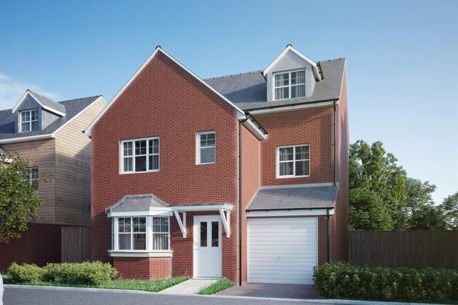 Thumbnail Detached house for sale in The Mews, Warren Close, Leighton Buzzard.