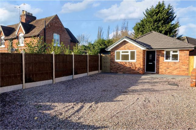 Thumbnail Detached bungalow for sale in Spetchley Road, Worcester