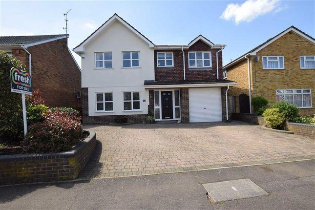 Thumbnail Detached house for sale in Mentmore, Langdon Hills, Basildon, Essex