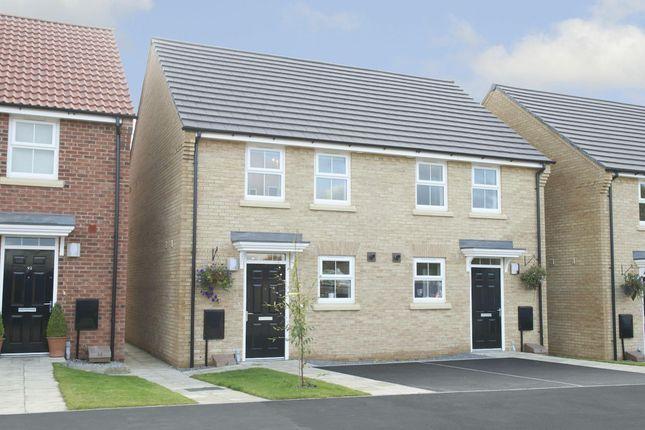 "Thumbnail Semi-detached house for sale in ""Winton"" at Stevens Court, Wellingborough Road, Earls Barton, Northampton"