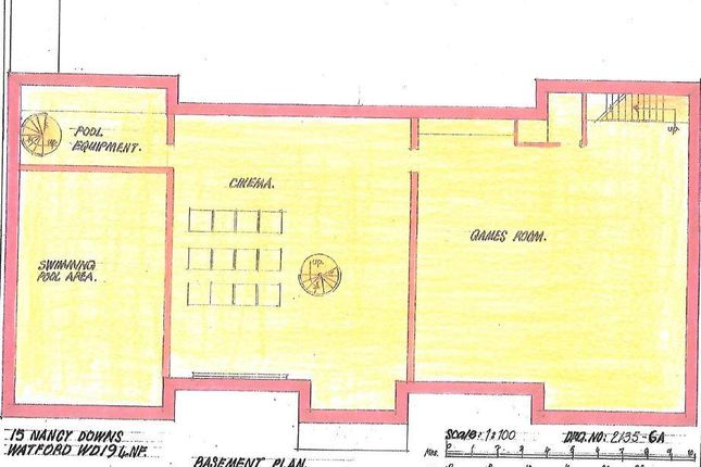 Floor Plan of Nancy Downs, Watford, Hertfordshire WD19
