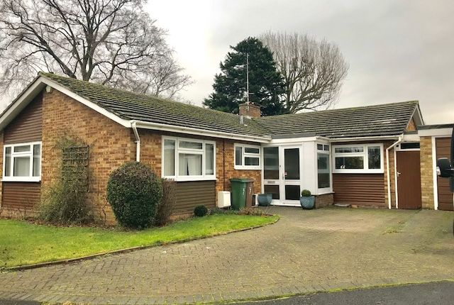 Thumbnail Detached bungalow for sale in The Glade, South Cheam