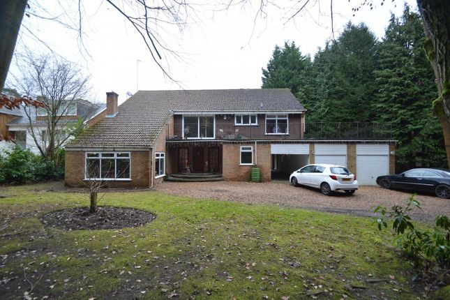 Thumbnail Detached house for sale in Heath Ride, Finchampstead