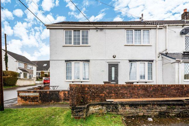 Thumbnail Semi-detached house for sale in Horeb Cottages, Heolgerrig, Merthyr Tydfil