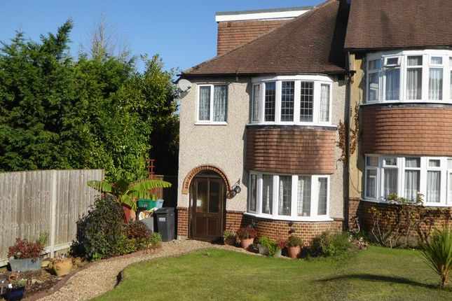 End terrace house for sale in Portnalls Close, Chipstead, Coulsdon