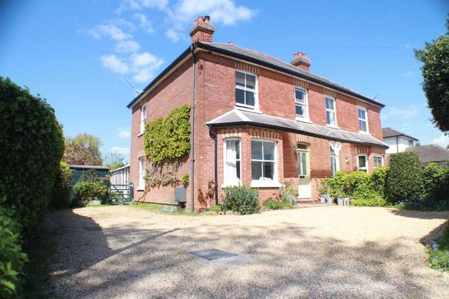Thumbnail Semi-detached house for sale in Holly Hill Lane, Sarisbury Green, Southampton