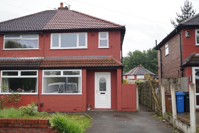 Thumbnail Semi-detached house for sale in Nelstrop Road, Levenshulme, Manchester