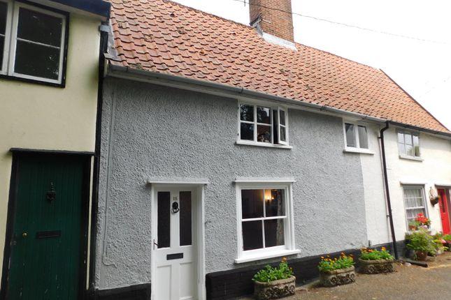 Thumbnail Terraced house for sale in Church Walk, Stowmarket