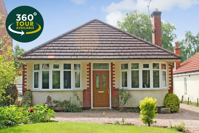 Thumbnail Detached bungalow for sale in Brook Lane, Billesdon, Leicester