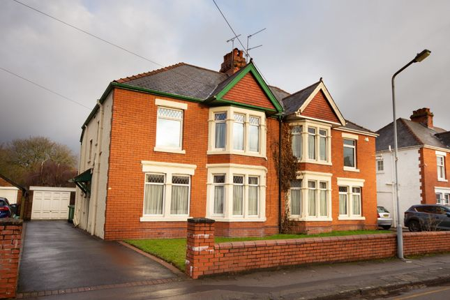 Semi-detached house for sale in Bishops Road, Whitchurch, Cardiff