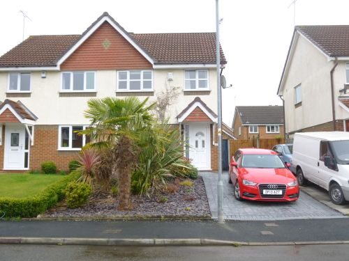 Thumbnail Semi-detached house to rent in Housesteads Drive, Hoole, Chester