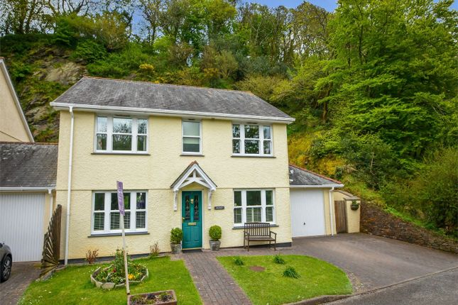 Thumbnail Link-detached house for sale in The Old Quarry, Mill Lane, Grampound, Nr Truro, Cornwall