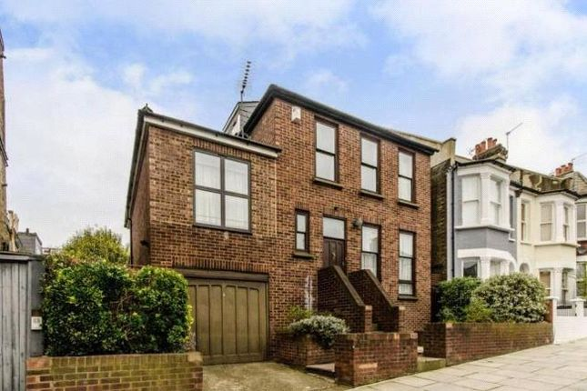 Thumbnail Detached house to rent in Burrard Road, West Hampstead