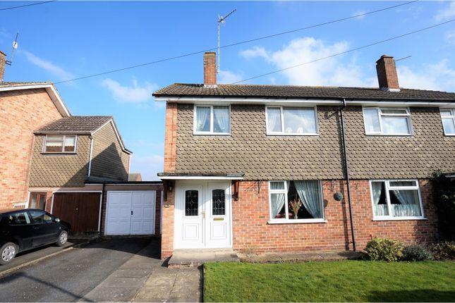 Thumbnail Semi-detached house for sale in Drayton Avenue, Stratford-Upon-Avon