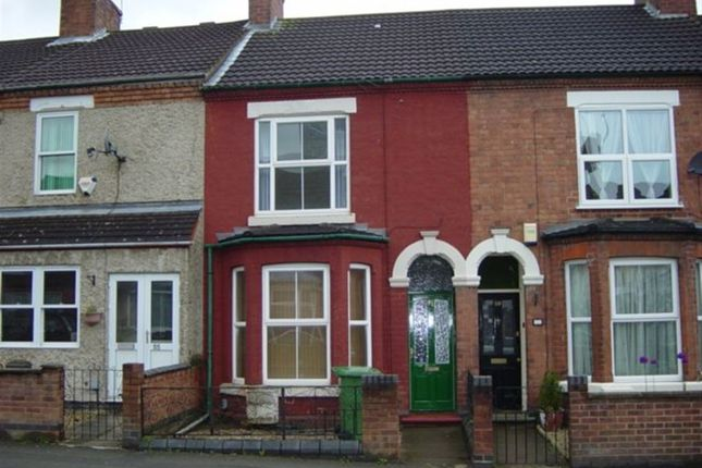 Thumbnail Terraced house to rent in South Street, Rugby