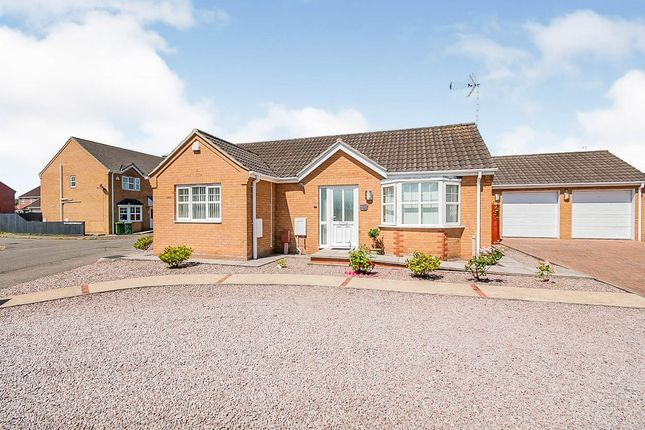 Thumbnail Detached bungalow for sale in Whetstone Way, Outwell, Wisbech