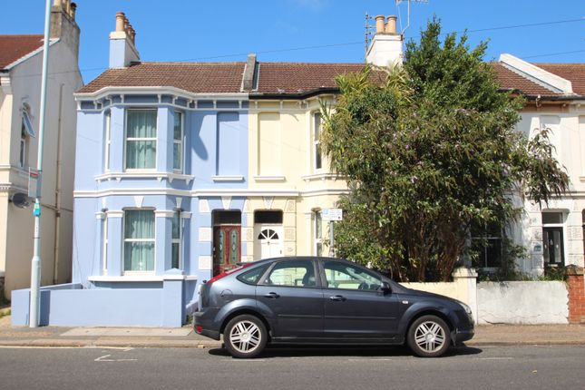 Thumbnail Terraced house to rent in 130 Tarring Road, Worthing