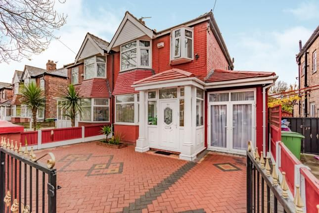 Thumbnail Semi-detached house for sale in Warwick Road South, Firswood, Manchester, Greater Manchester