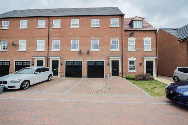 Thumbnail Town house for sale in Charlotte Way, Netherton, Peterborough