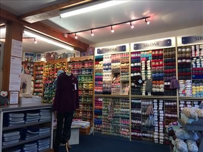 Thumbnail Retail premises for sale in Caroline's Wool Shop Business, 5, Market Street, Newtown