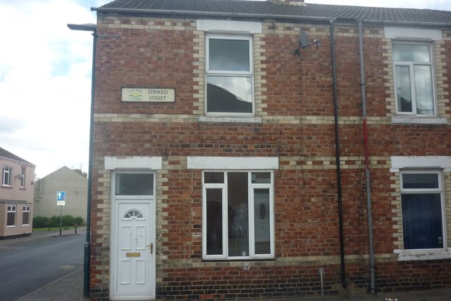 End terrace house for sale in Edward Street, Eldon Lane, Bishop Auckland