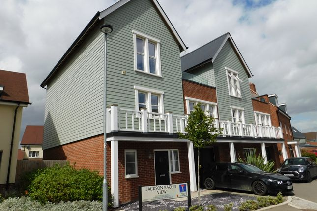 4 bed town house to rent in Wilfred Waterman Drive, Beaulieu Park, Chelmsford CM1