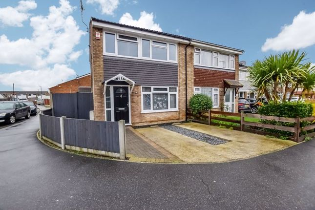3 bed semi-detached house for sale in Bure, East Tilbury, Tilbury RM18