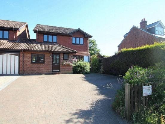 Thumbnail Link-detached house for sale in The Hatches, Frimley Green, Camberley