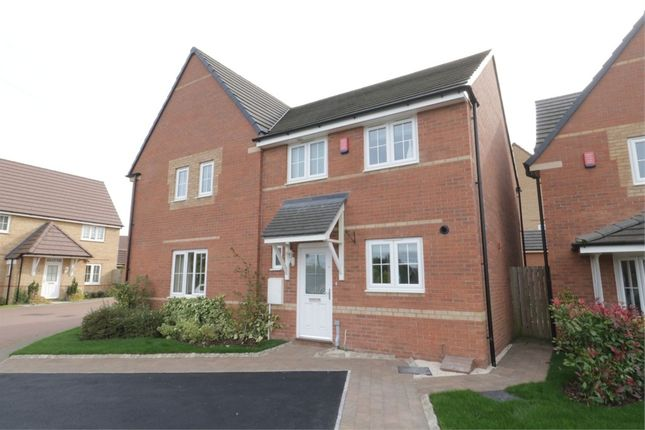 Thumbnail Semi-detached house for sale in Kingdom Close, Thurcroft, Rotherham, South Yorkshire