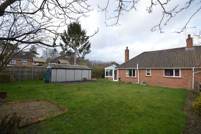 Thumbnail Semi-detached bungalow for sale in Yelverton Close, Hellesdon, Norwich