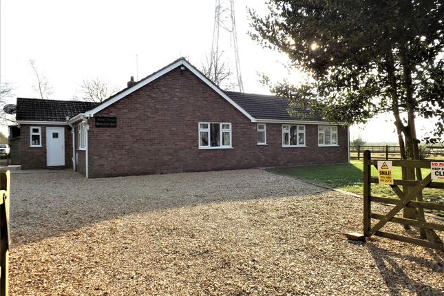 Thumbnail Bungalow for sale in Hitherhold Gate, Cranmore Lane, Holbeach, Spalding