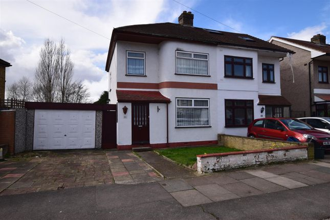 Thumbnail Semi-detached house for sale in Blackbush Avenue, Chadwell Heath, Romford
