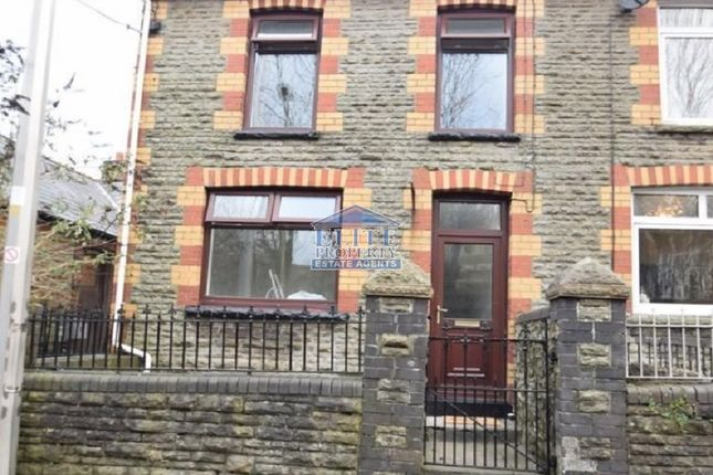Thumbnail End terrace house to rent in Green Meadow Terrace, Llangeinor, Bridgend.