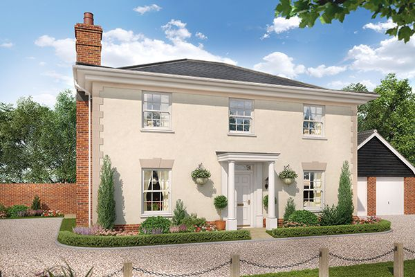 Thumbnail Detached house for sale in Nursery Lane, South Wootton, Norfolk