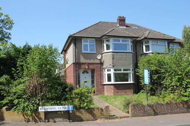 Thumbnail Semi-detached house for sale in Browning Close, Colchester