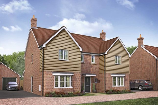 "Thumbnail Detached house for sale in ""The Sherbourne"" at Ettington Road, Wellesbourne, Warwick"
