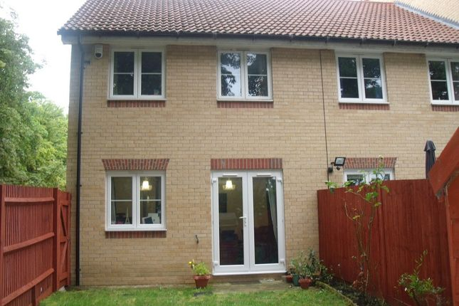 Thumbnail End terrace house to rent in Cranwell Road, Farnborough