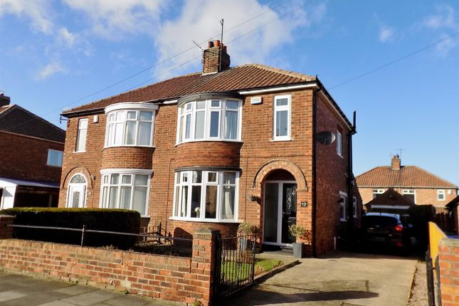 Thumbnail Semi-detached house for sale in 12 Derwentwater Avenue, Acklam, Middlesbrough