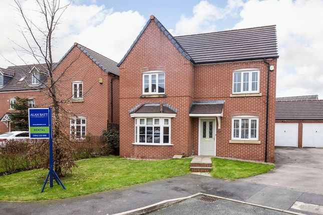 Thumbnail Detached house to rent in Alverton Court, Ince, Wigan