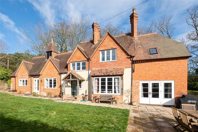Thumbnail Detached house to rent in Adbury Holt, Newtown, Newbury, Hampshire