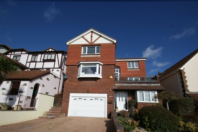 Thumbnail Detached house for sale in Dolphin Crescent, Preston, Paignton