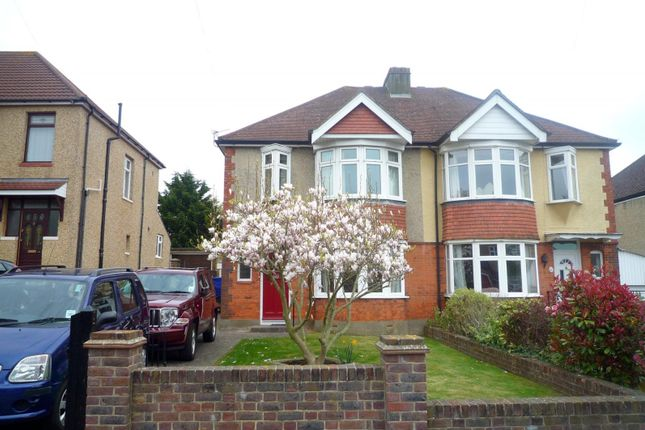 Thumbnail Semi-detached house to rent in Merthyr Avenue, Drayton, Portsmouth